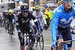 Riders tackle the 9 laps of the Harrogate circuit during the Men Elite Road Race of the UCI World Championships 2019 running 261km from Leeds to Harrogate, England. 29th September 2019.<br /> Picture: Eoin Clarke | Cyclefile<br /> <br /> All photos usage must carry mandatory copyright credit (© Cyclefile | Eoin Clarke)