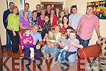 Mary O'Donoghue, Kilcummin, pictured with family and friends as she celebrated her 60th birthday in Lord Kenmares restaurant, Killarney on Saturday night...