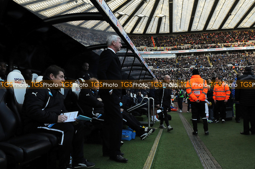 Newcastle United manager Alan Pardew - Newcastle United vs Arsenal - Barclays Premier League Football at St James Park, Newcastle upon Tyne - 29/12/13 - MANDATORY CREDIT: Steven White/TGSPHOTO - Self billing applies where appropriate - 0845 094 6026 - contact@tgsphoto.co.uk - NO UNPAID USE