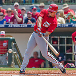 20 March 2015: Washington Nationals catcher Jose Lobaton in Spring Training action against the Houston Astros at Osceola County Stadium in Kissimmee, Florida. The Nationals defeated the Astros 7-5 in Grapefruit League play. Mandatory Credit: Ed Wolfstein Photo *** RAW (NEF) Image File Available ***