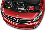 Car stock 2018 Mercedes Benz Citan Perfect Tool 4 Door Panel Wagon engine high angle detail view