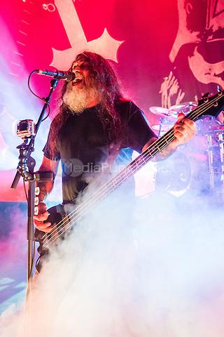 DETROIT, MI - DECEMBER 5: Slayer performs at The Fillmore on December 5, 2014 in Detroit, Michigan. Photo Credit: Chris Schwegler / Retna/MediaPunch