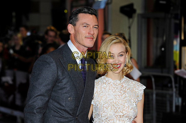 LONDON, ENGLAND - OCTOBER 1:   Luke Evans and Sarah Gadon attend the UK Premiere of 'Dracula Untold' at Odeon West End on October 1 2014 in London, England<br /> CAP/MAR<br /> &copy; Martin Harris/Capital Pictures