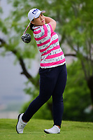 Amy Yang (KOR) watches her tee shot on 3 during round 3 of  the Volunteers of America Texas Shootout Presented by JTBC, at the Las Colinas Country Club in Irving, Texas, USA. 4/29/2017.<br /> Picture: Golffile | Ken Murray<br /> <br /> <br /> All photo usage must carry mandatory copyright credit (&copy; Golffile | Ken Murray)