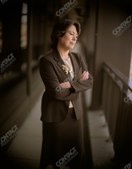 Sheila Bair, chairwoman of the Federal Deposit Insurance Corporation (FDIC). Washington, D.C., September 30, 2008.