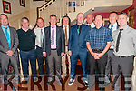 Listowel Celtic Annual Dinner : Attending the Listowel Celtic Fc dinner dance in the Listowel Arms Hotel on Friday night last were member of the Celtic team that won the 1989 Kerry league. L- R: Mike Canavan, Mickey Kelly, Jimmy Dore, Declan Sheehy, Maurice Hannon, Dobs O'Brien, Seanie Carey, Fergus Houlihan, Pat Carmody & Tommy Sweeney.
