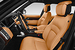Front seat view of a 2019 Land Rover Range Rover Autobiography 5 Door SUV front seat car photos