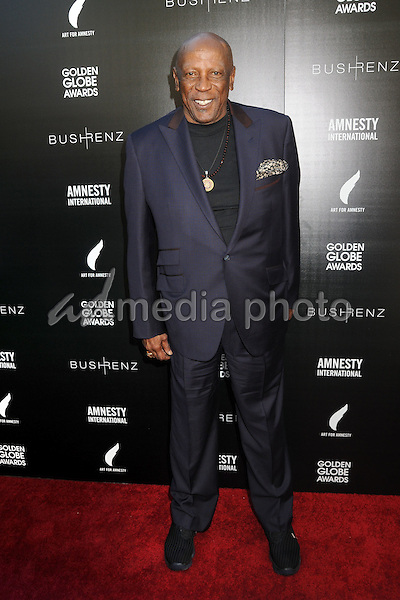 8 January 2016 - West Hollywood, California - Louis Gossett Jr.. 1st Annual Art for Amnesty Pre-Golden Globes Brunch held at Chateau Marmont. Photo Credit: Byron Purvis/AdMedia