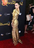 "11 July 2017 - Hollywood, California - Sofia Carson. Disney's ""Descendants 2"" Los Angeles Premiere held at the ArcLight Cinerama Dome in Hollywood. Photo Credit: Birdie Thompson/AdMedia"
