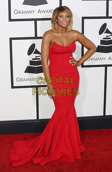 LOS ANGELES, CA - JANUARY 26:  Tamar Braxton attending The 56th Annual Grammy Awards at Staples Center in Los Angeles, California on January 26, 2014. <br /> CAP/MPI/mpi99<br /> &copy;mpi99/MediaPunch/Capital Pictures