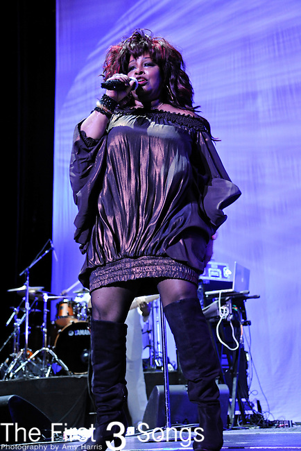 Chaka Khan performs at the 2011 Essence Music Festival on July 2, 2011 in New Orleans, Louisiana at the Louisiana Superdome.