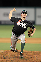 Connor Jones during the Team One Futures Showcase East at Roger Dean Stadium on October 1, 2011 in Jupiter, Florida.  (Mike Janes/Four Seam Images)