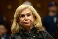 U.S Representative Carolyn Maloney (Democrat of New York) at a hearing on the 9-11 Victims fund before the Judiciary subcommittee on Capitol Hill in Washington D.C. on June 11, 2019.<br /> <br /> Credit: Stefani Reynolds / CNP/AdMedia