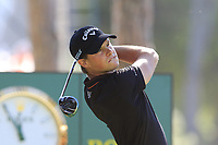 Thomas Detry (BEL) tees off the 1st tee during Friday's Round 2 of the 2018 Turkish Airlines Open hosted by Regnum Carya Golf &amp; Spa Resort, Antalya, Turkey. 2nd November 2018.<br /> Picture: Eoin Clarke | Golffile<br /> <br /> <br /> All photos usage must carry mandatory copyright credit (&copy; Golffile | Eoin Clarke)