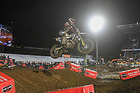 Hayden Mellross (AUS)<br /> 2018 SX Open - Auckland / SX 1<br /> FIM Oceania Supercross Championships<br /> Mt Smart Stadium / Auckland NZ<br /> Saturday Nov 24th 2018<br /> © Sport the library/ Jeff Crow / AME