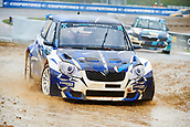 14th April 2018, Circuit de Barcelona-Catalunya, Barcelona, Spain; FIA World Rallycross Championship; Janno Ligur of the Janno Ligur Super 1600 Team in action during the very wet Q2