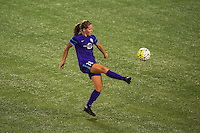 Orlando, FL - Thursday June 23, 2016: Maddy Evans during a regular season National Women's Soccer League (NWSL) match between the Orlando Pride and the Houston Dash at Camping World Stadium.