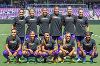 Orlando, FL - Friday July 04, 2014: Orlando Pride Team Shot during a regular season National Women's Soccer League (NWSL) match between the Orlando Pride and the Houston Dash at Orlando City Stadium.