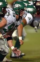 Mike McCullough Saskatchewan Roughriders 2003. Photo copyright Scott Grant.