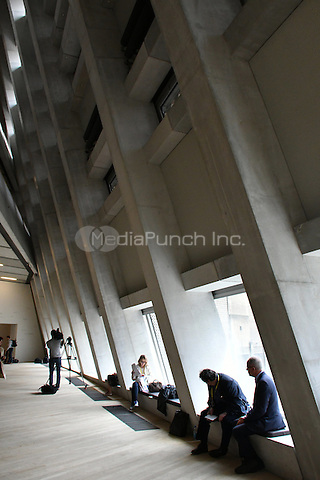 The new Tate Modern opens to the public on Friday 17 June, 2016.  The new Switch House is designed by architects Herzog &amp; de Meuron.  <br /> CAP/JOR<br /> &copy;JOR/Capital Pictures /MediaPunch ***NORTH AND SOUTH AMERICAS ONLY***