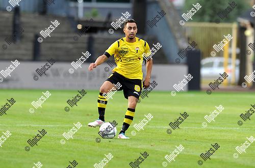 2013-09-15 / Voetbal / seizoen 2013-2014 / Berchem Sport / Brahim Boujouh<br /><br />Foto: Mpics.be