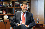 Popular Party leader Mariano Rajoy during interview, April 05, 2006. (ALTERPHOTOS/Alvaro Hernandez).