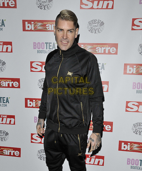 LONDON, ENGLAND - MARCH 02: Shane Lynch attends the Sun's Bizarre column 1st annual party, Steam &amp; Rye bar &amp; restaurant, Leadenhall St., on Monday March 02, 2015 in London, England, UK. <br /> CAP/CAN<br /> &copy;CAN/Capital Pictures