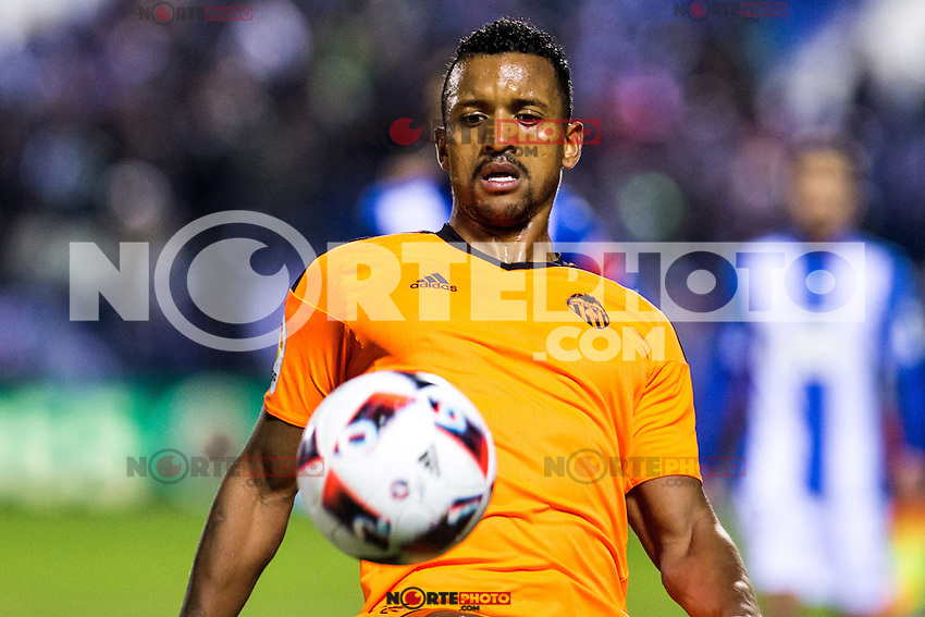 "Valencia's Nani Almeida during the match of ""Copa del Rey"" between CD Leganes and Valencia CF at Butarque Stadium in Leganes, Spain. November 29, 2016. (ALTERPHOTOS/Rodrigo Jimenez) /NORTEPHOTO.COM"