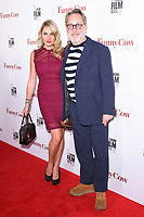 Nancy Sorrel &amp; Vic Reeves (Jim Moir) at the London Film Festival 2017 screening of &quot;Funny Cow&quot; at the Vue West End, Leicester Square, London, UK. <br /> 09 October  2017<br /> Picture: Steve Vas/Featureflash/SilverHub 0208 004 5359 sales@silverhubmedia.com