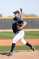 Nick Schumacher, San Diego Padres minor league spring training..Photo by:  Bill Mitchell/Four Seam Images.