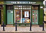 Oxford 2009-03-07. Miasto w południowej Anglli głównie znane jako siedziba Uniwersytetu Oxfordzkiego. Sklep z whisky.