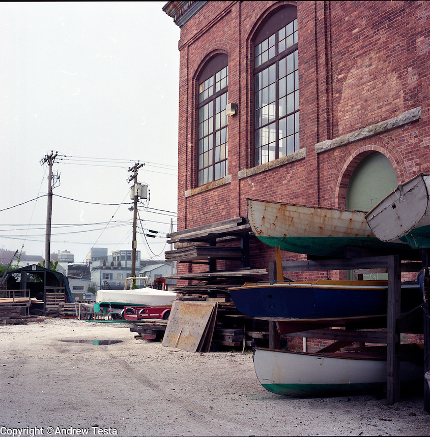 USA. Newport . 15th May 2009.The International Yacht Restoration School in Newport. Elizabeth Meyer founded the school in 1993..©Andrew Testa.
