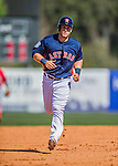 4 March 2016: Houston Astros outfielder Preston Tucker rounds the bases after hitting a solo home run during a Spring Training pre-season game against the St. Louis Cardinals at Osceola County Stadium in Kissimmee, Florida. The Astros defeated the Cardinals 6-3 in Grapefruit League play. Mandatory Credit: Ed Wolfstein Photo *** RAW (NEF) Image File Available ***