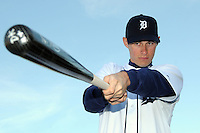 Feb 21, 2009; Lakeland, FL, USA; The Detroit Tigers infielder Don Kelly (62) during photoday at Tigertown. Mandatory Credit: Tomasso De Rosa/ Four Seam Images