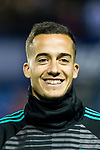 Lucas Vazquez of Real Madrid in training prior to the La Liga 2017-18 match between Levante UD and Real Madrid at Estadio Ciutat de Valencia on 03 February 2018 in Valencia, Spain. Photo by Maria Jose Segovia Carmona / Power Sport Images