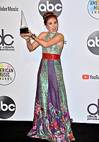 LOS ANGELES, CA. October 09, 2018: Lauren Daigle at the 2018 American Music Awards at the Microsoft Theatre LA Live.<br /> Picture: Paul Smith/Featureflash