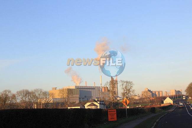 Indevar waste Facility (incinerator) on the Platin road outside Drogheda.Picture: Fran Caffrey/www.newsfile.ie.