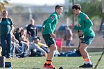 09.01.2020, Sportzentrum RCD Mallorca, Son Bibiloni, ESP, TL Werder Bremen -  Training Tag 07<br /> <br /> im Bild / picture shows <br /> <br /> Rehatraining von<br /> Ludwig Augustinsson (Werder Bremen #05)<br /> #WMilos Veljkovic (Werder Bremen #13) (re) <br /> <br /> Foto © nordphoto / Kokenge