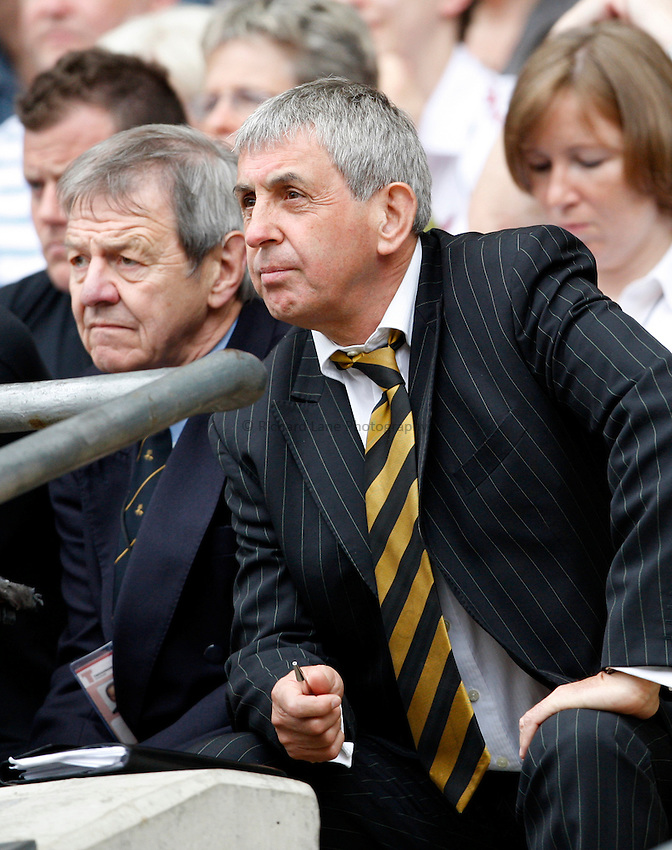 Photo: Richard Lane/Richard Lane Photography. .Leicester Tigers v London Wasps. Guinness Premiership Final. 31/05/2008. Wasps' Director of Rugby, Ian McGeechan.