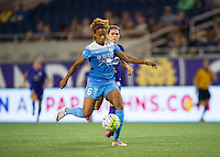 Orlando, FL - Saturday July 16, 2016: Casey Short during a regular season National Women's Soccer League (NWSL) match between the Orlando Pride and the Chicago Red Stars at Camping World Stadium.