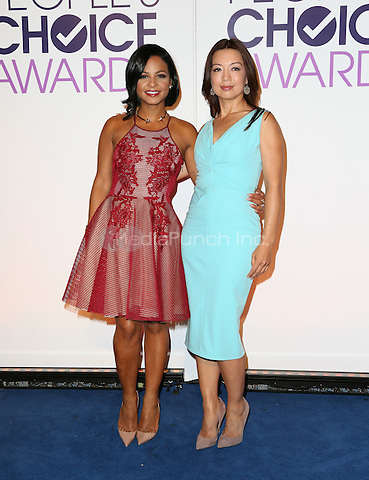 Beverly Hills, CA - November 03 Christina Milian, Ming-Na Wen Attending People's Choice Awards 2016 - Nominations Press Conference At The Paley Center for Media On November 03, 2015. Photo Credit: Faye Sadou / MediaPunch