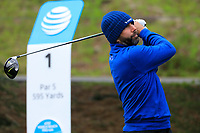 Colt Knost (USA) during the second round of the AT&amp;T Pro-Am , Pebble Beach Golf Links, Monterey, USA. 08/02/2019<br /> Picture: Golffile | Phil Inglis<br /> <br /> <br /> All photo usage must carry mandatory copyright credit (&copy; Golffile | Phil Inglis)