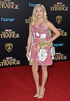LOS ANGELES, CA. October 20, 2016: Chachi Gonzales at the world premiere of Marvel Studios' &quot;Doctor Strange&quot; at the El Capitan Theatre, Hollywood.<br /> Picture: Paul Smith/Featureflash/SilverHub 0208 004 5359/ 07711 972644 Editors@silverhubmedia.com