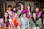 Hen Party for Helen Dennehy, Balloonagh Tralee who's marrying Mick Regan, Tralee, Marie Dennehy,  in March 2016, celebrates at the Stone House with family and friends on Friday. Pictured front l-r Caitríona Harrington, Christine Dennehy, Helen Dennehy, Back l-r Jaclyn Healy,  Katie Allen, Regina Keating, Bridget O'Drisco and Eileen Molloy