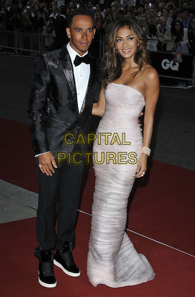 LONDON, ENGLAND - SEPTEMBER 02: Lewis Hamilton &amp; Nicole Scherzinger attend the GQ Men of the Year Awards 2014, Royal Opera House, Covent Garden, on Tuesday September 02, 2014 in London, England, UK. <br /> CAP/CAN<br /> &copy;Can Nguyen/Capital Pictures