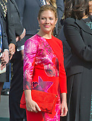 Mrs. Sophie Gr&eacute;goire Trudeau attends the Arrival Ceremony opening the Official Visit of Prime Minister Justin Trudeau of Canada the South Lawn of the White House in Washington, DC on Thursday, March 10, 2016. <br /> Credit: Ron Sachs / CNP
