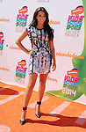 LOS ANGELES, CA- JULY 17: Actress Ana Villafañe attends Nickelodeon Kids' Choice Sports Awards 2014 at Pauley Pavilion on July 17, 2014 in Los Angeles, California.