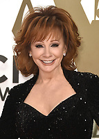 NASHVILLE, TN - NOVEMBER 13:  Reba McEntire at the 53rd Annual CMA Awards at the Bridgestone Arena on November 13, 2019 in Nashville, Tennessee. (Photo by Scott Kirkland/PictureGroup)