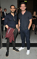 guest and Jonathan Bailey at the Nobu Hotel Shoreditch official launch party, Nobu Hotel Shoreditch, Willow Street, London, England, UK, on Tuesday 15 May 2018.<br /> CAP/CAN<br /> &copy;CAN/Capital Pictures