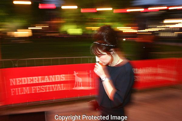 20110922 - Utrecht - Foto: Ramon Mangold - NFF 2011 - Nederlands Filmfestival - .Actrice Carice van Houten op de rode loper bij de premiere van Isabelle.
